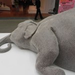 I really liked this elephant! It was a wonderfully textured piece of art.